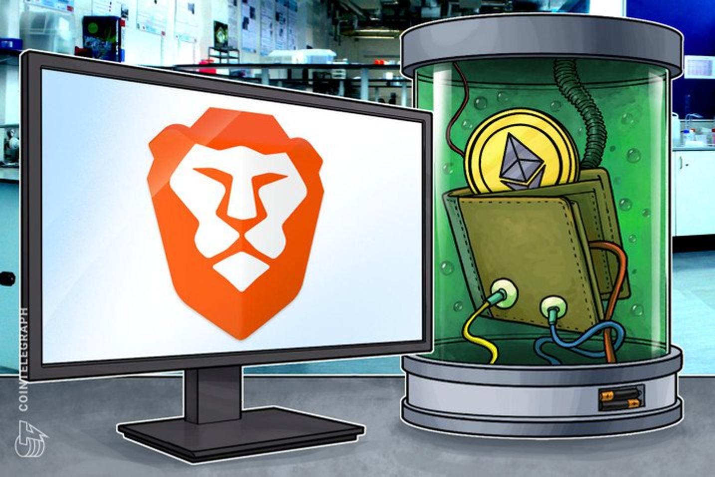 O token BAT registrou um aumento de 54% nas transações após o anúncio com a Binance