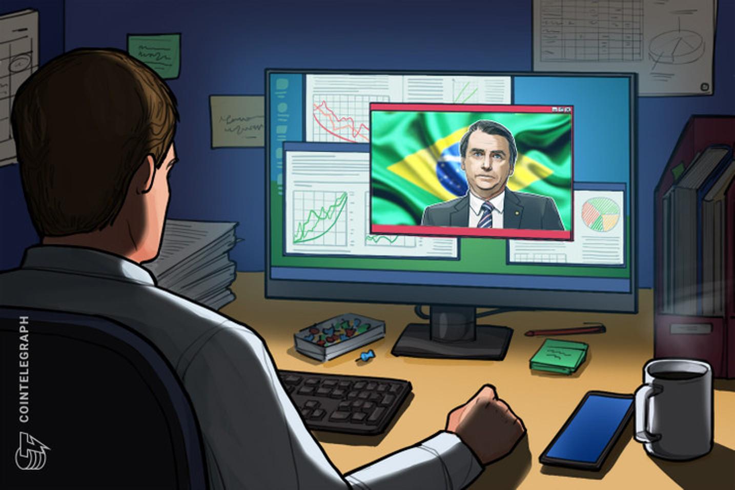 Bolsonaro descartou tecnologia blockchain que poderia ser usada para investigar roubo contra banco em Criciúma
