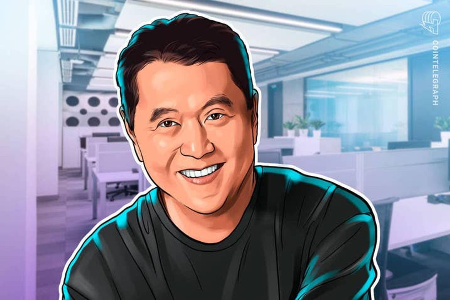 "Robert Kiyosaki: ""Compra Bitcoin y balas"""