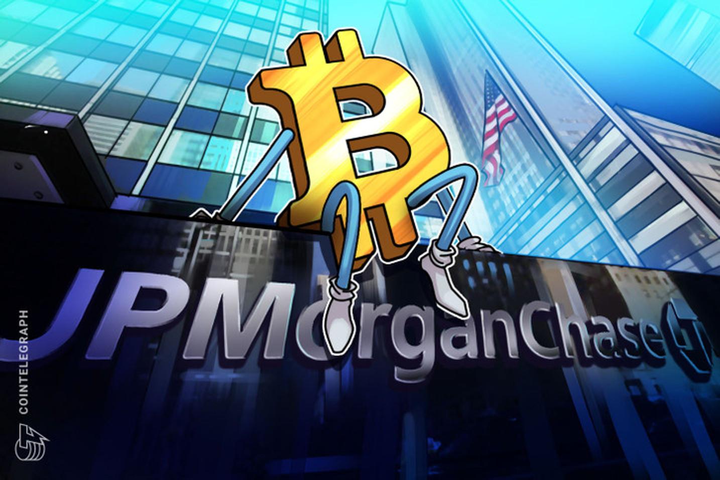 """¿Por qué JP Morgan se """"rinde"""" ante Bitcoin?"""