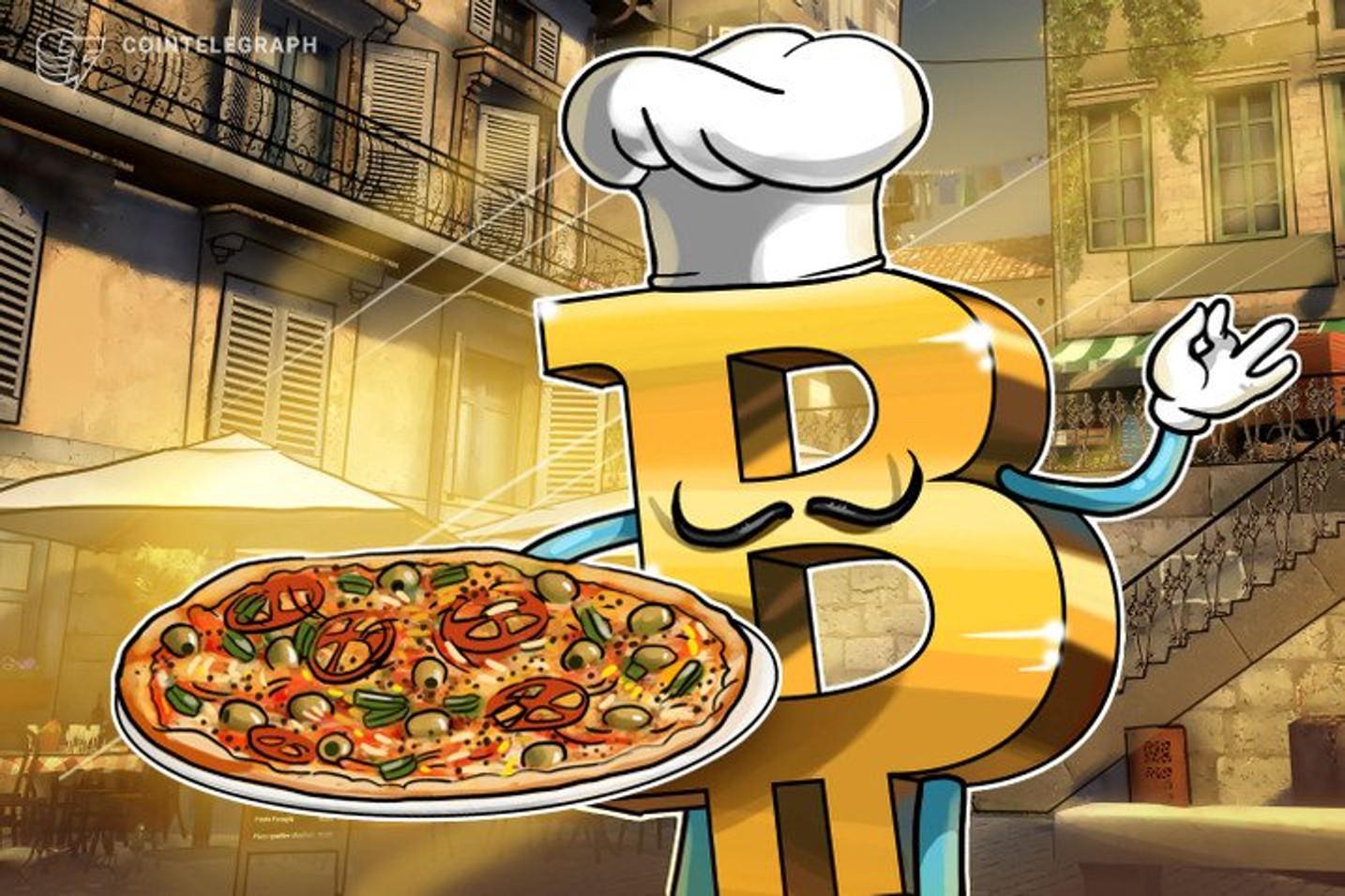BitcoinToYou vai sortear vale pizza delivery na Pizza Hut para comemorar o Bitcoin Pizza Day
