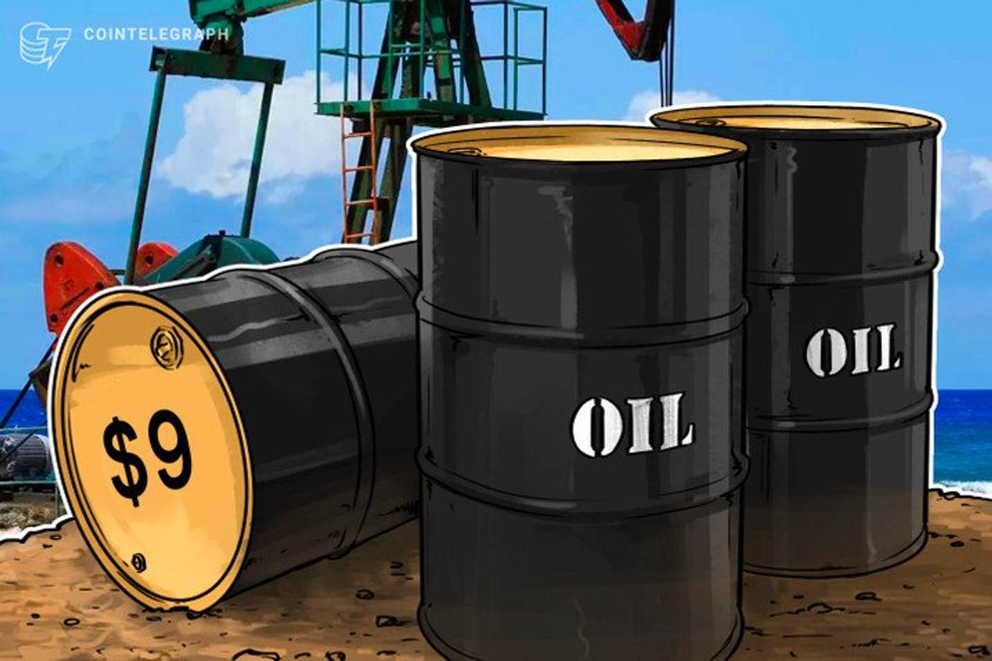 Contratos de Petróleo derretem e são negociados abaixo de US$ 0, com queda de mais de 100% pela primeira vez na história