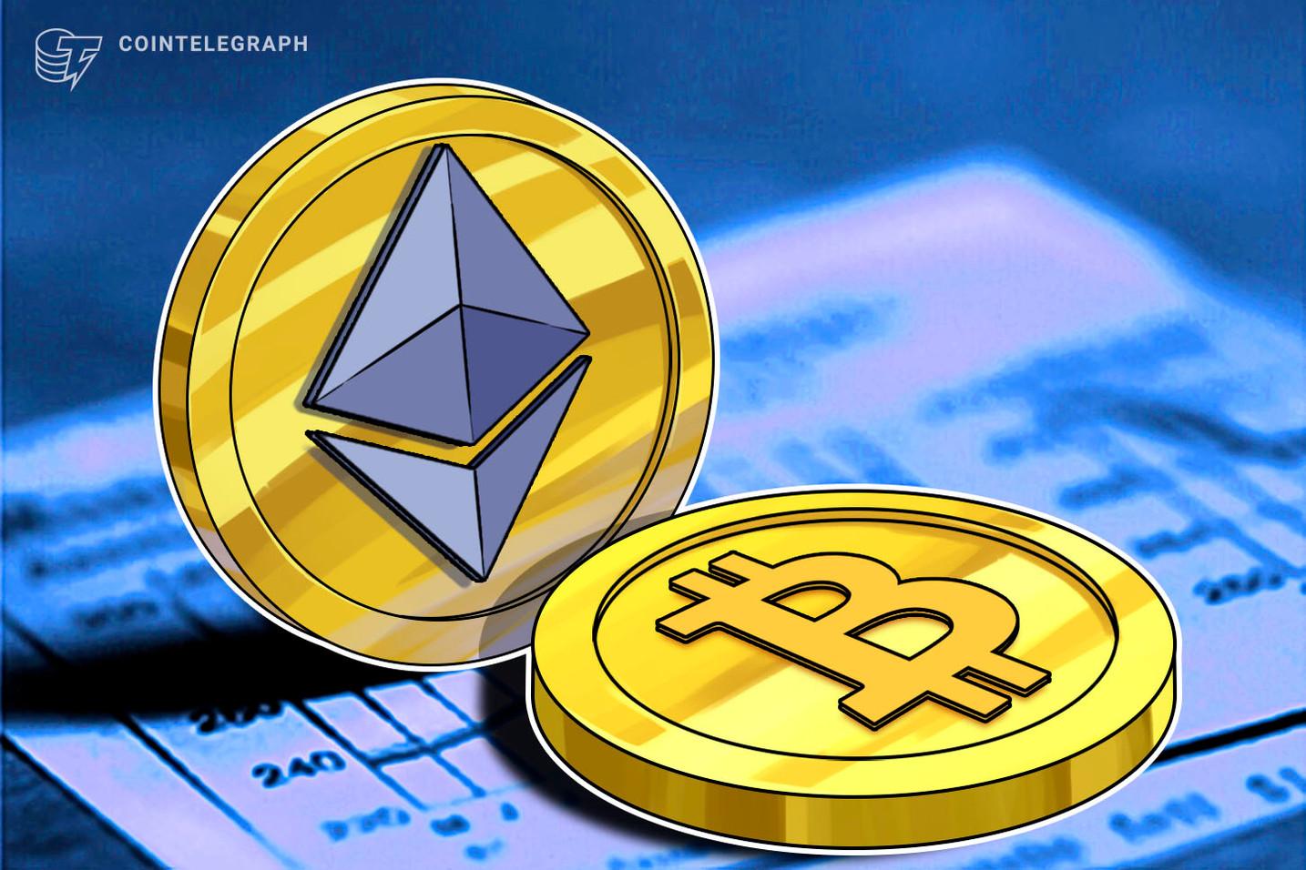 Bitcoin tokenizado é agora o 6º maior token da Ethereum
