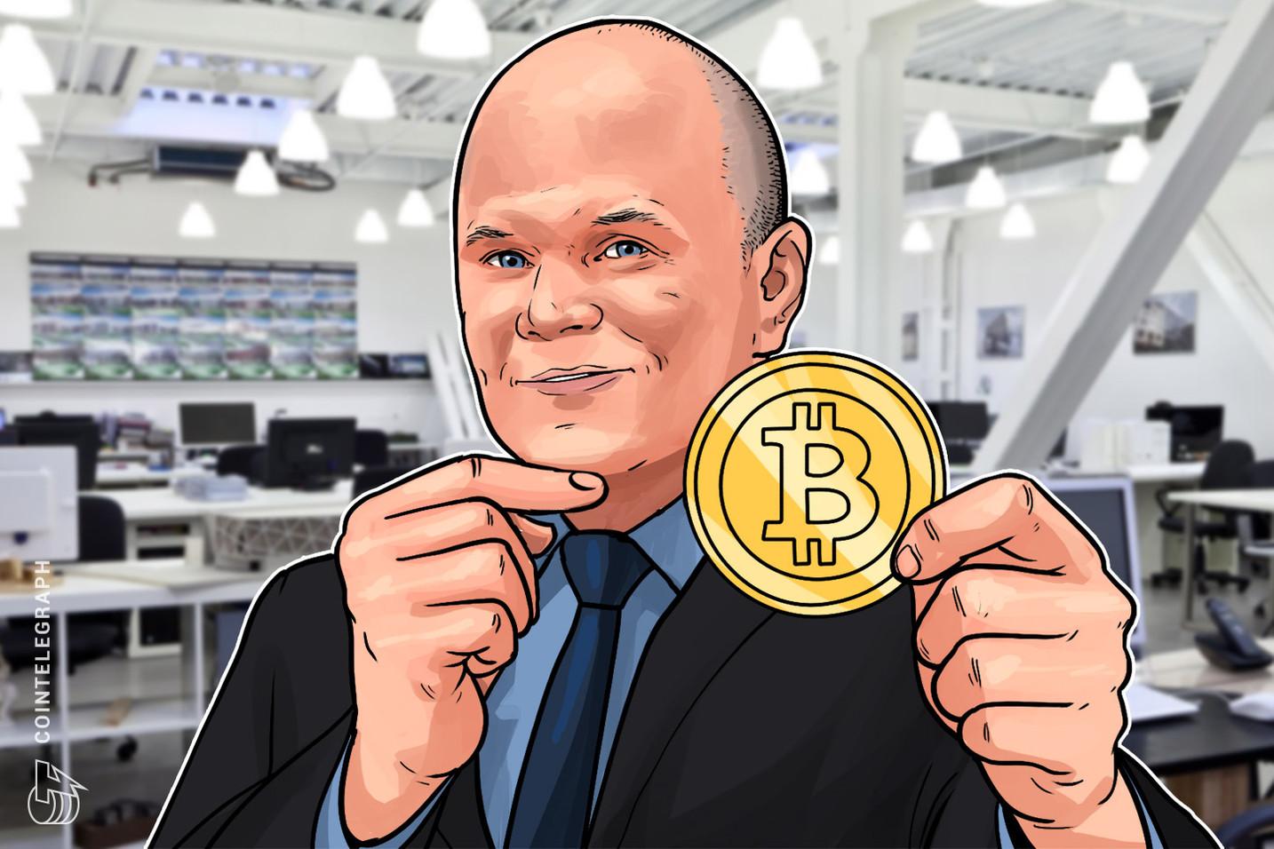 Mike Novogratz: 'Bitcoin sta diventando un investimento sempre meno rischioso'