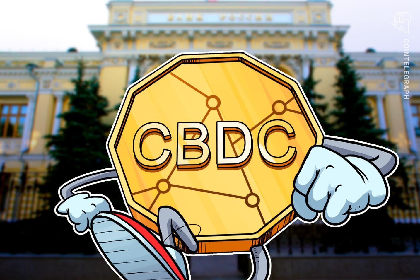 Russia's central bank says the pandemic has accelerated regulators' interest in CBDCs