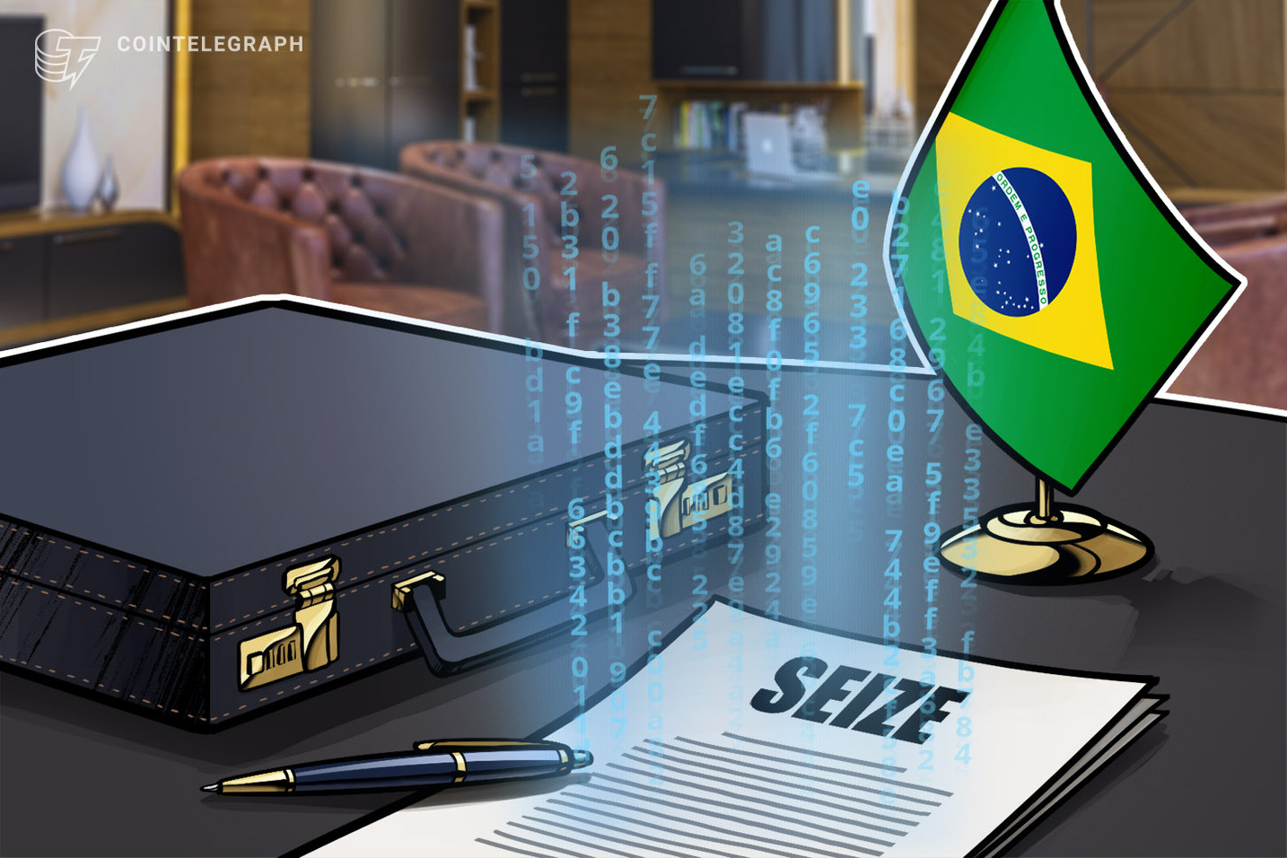 Brazilian gov't gets help from US Justice Department to seize $24M in crypto
