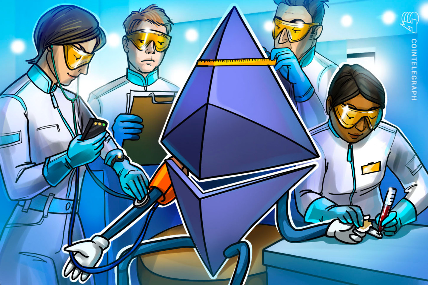Ether wallet addresses with at least 1 ETH hit record high