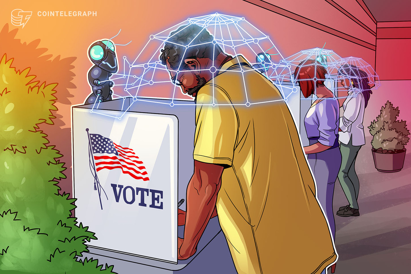 Blockchain voting is the alternative for trusted democratic elections