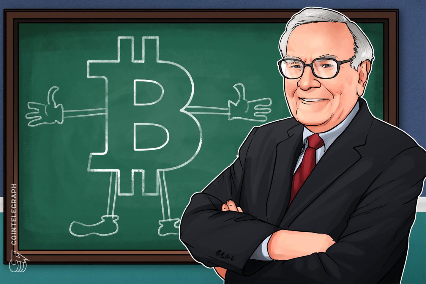 """Warren Buffett elogia el """"Dollar-cost Averaging"""" para invertir en acciones, pero ¿también funciona para Bitcoin?"""
