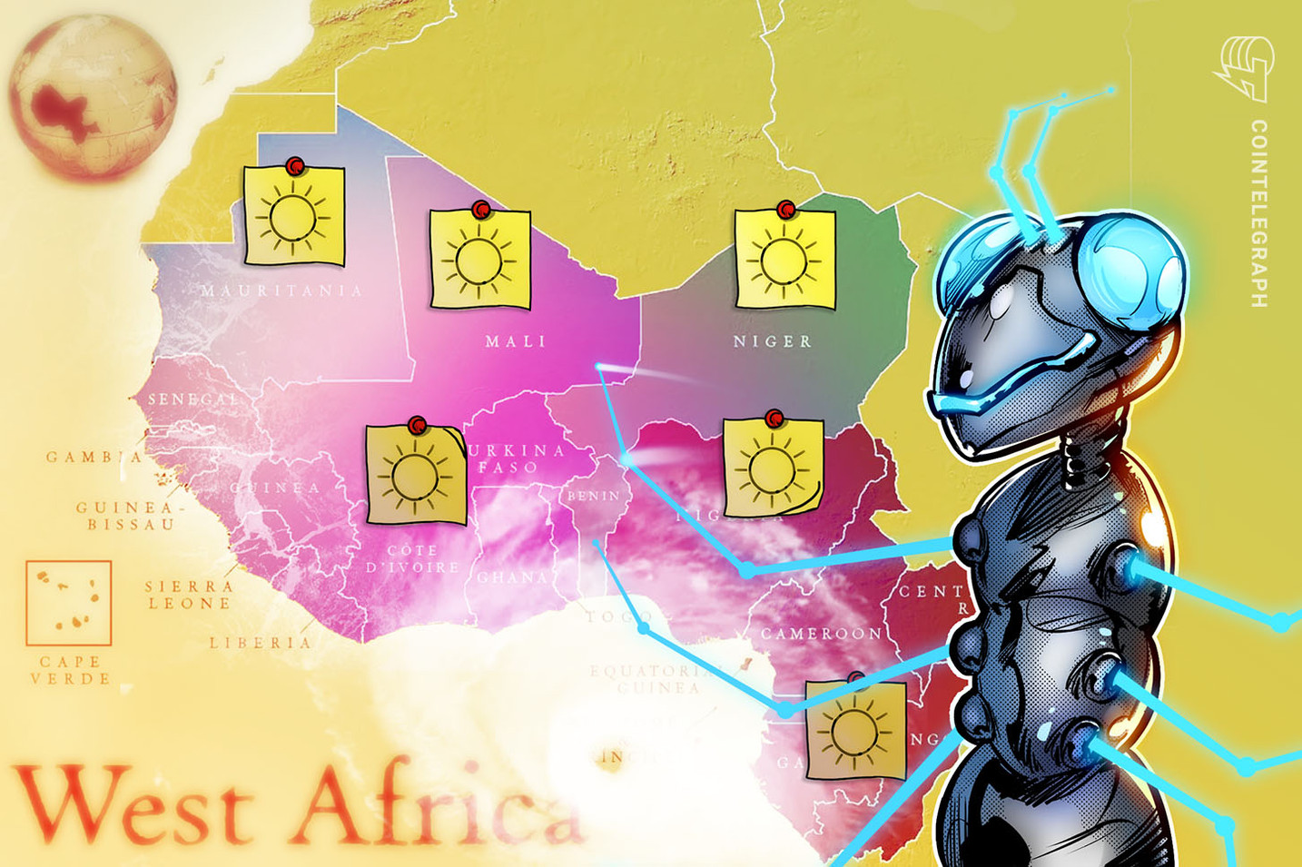 Weather-tracking blockchain in West Africa, but transparency on a raincheck