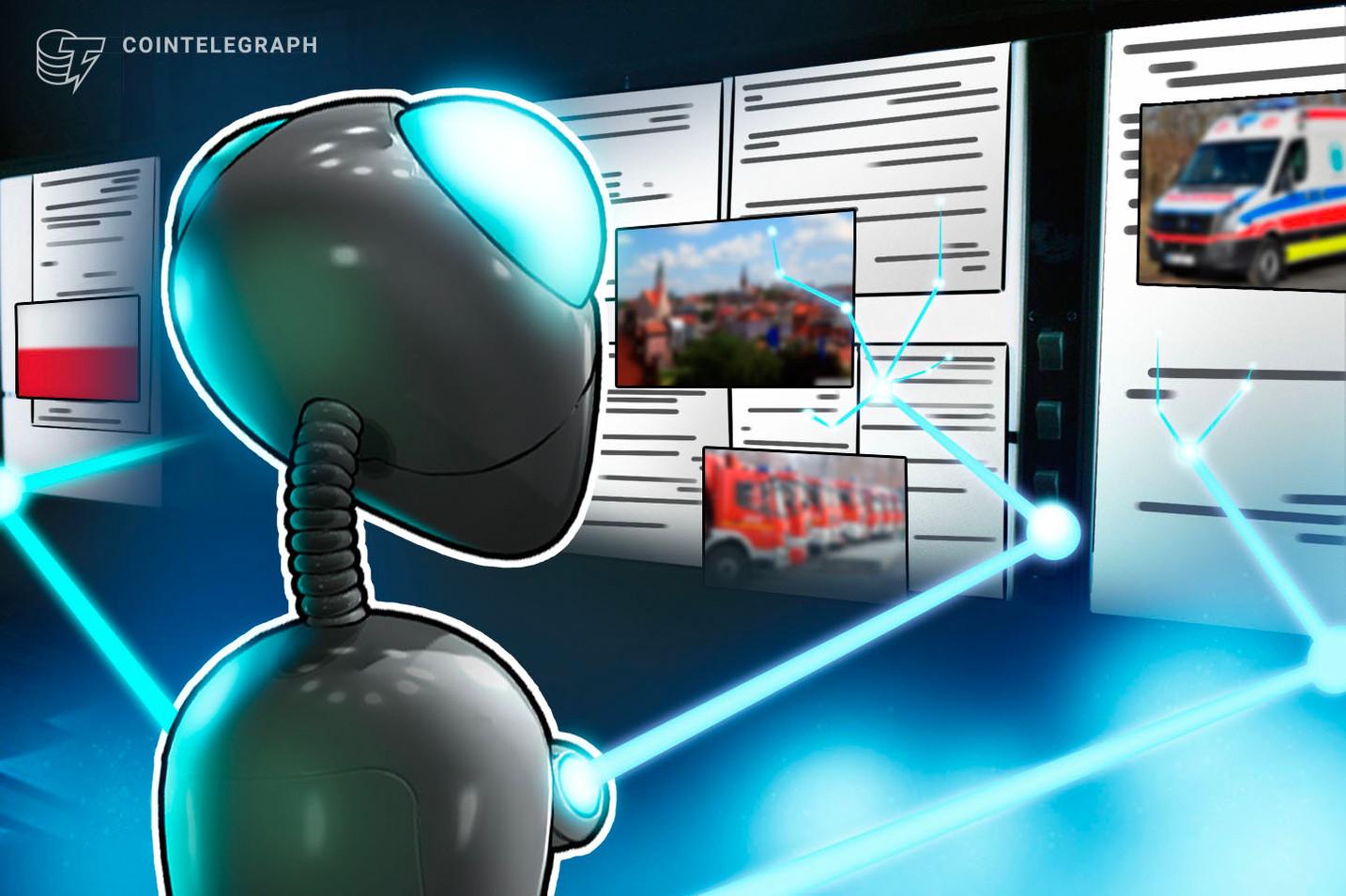 """Novum – Polnische Stadt nutzt Blockchain erstmals als """"Türöffner"""" für Rettungsdienste"""