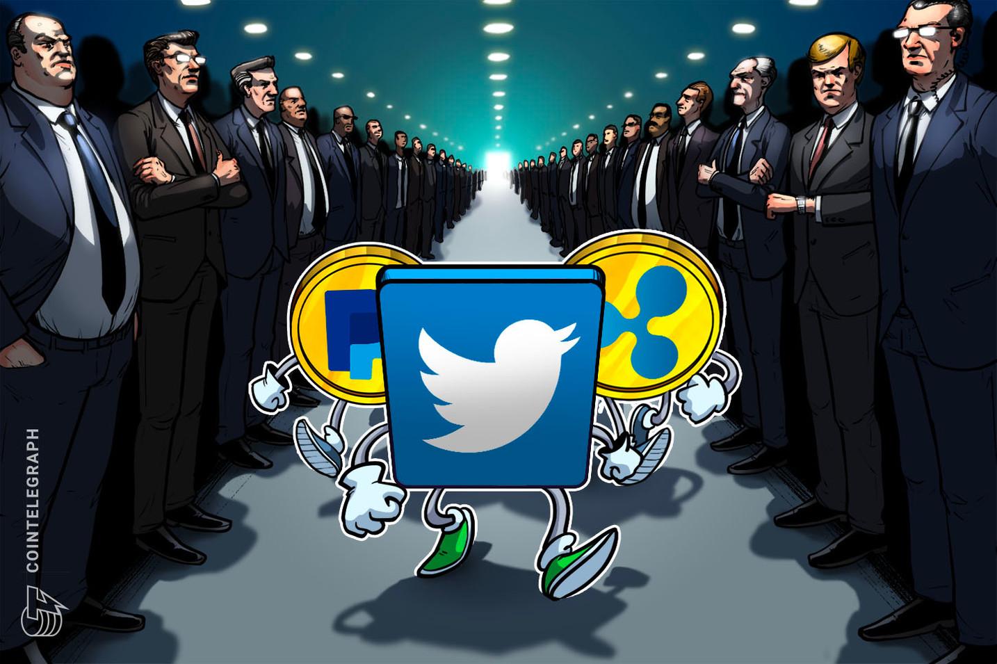 Ripple, PayPal e Twitter unem-se a coligação que pede eleições justas