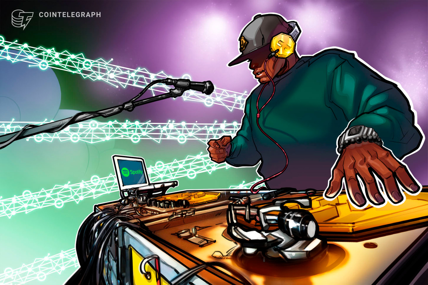 Audio streaming giant Spotify is looking into crypto payments