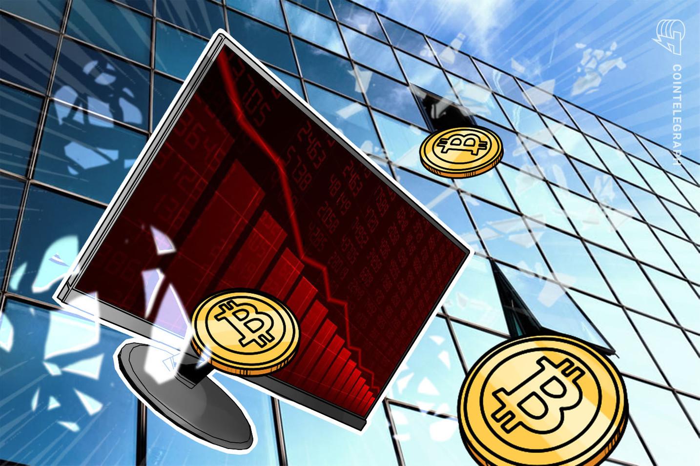 Bitcoin cai abaixo de US$18.000 - Aqui estão os níveis para observar a seguir