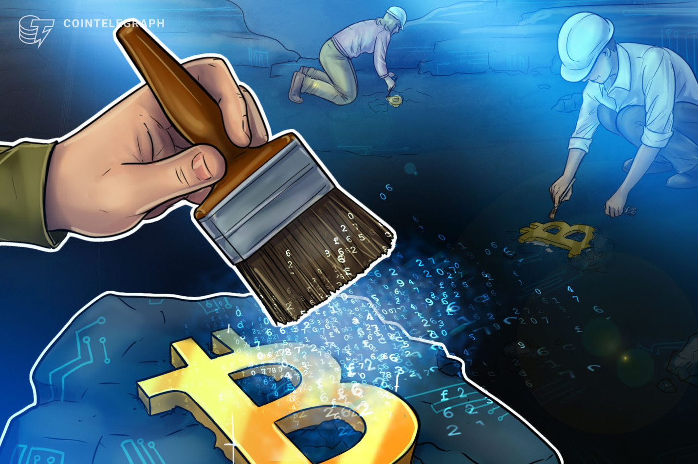 Oldest Bitcoin mining pool 'immortalizes' bullish Reuters headline