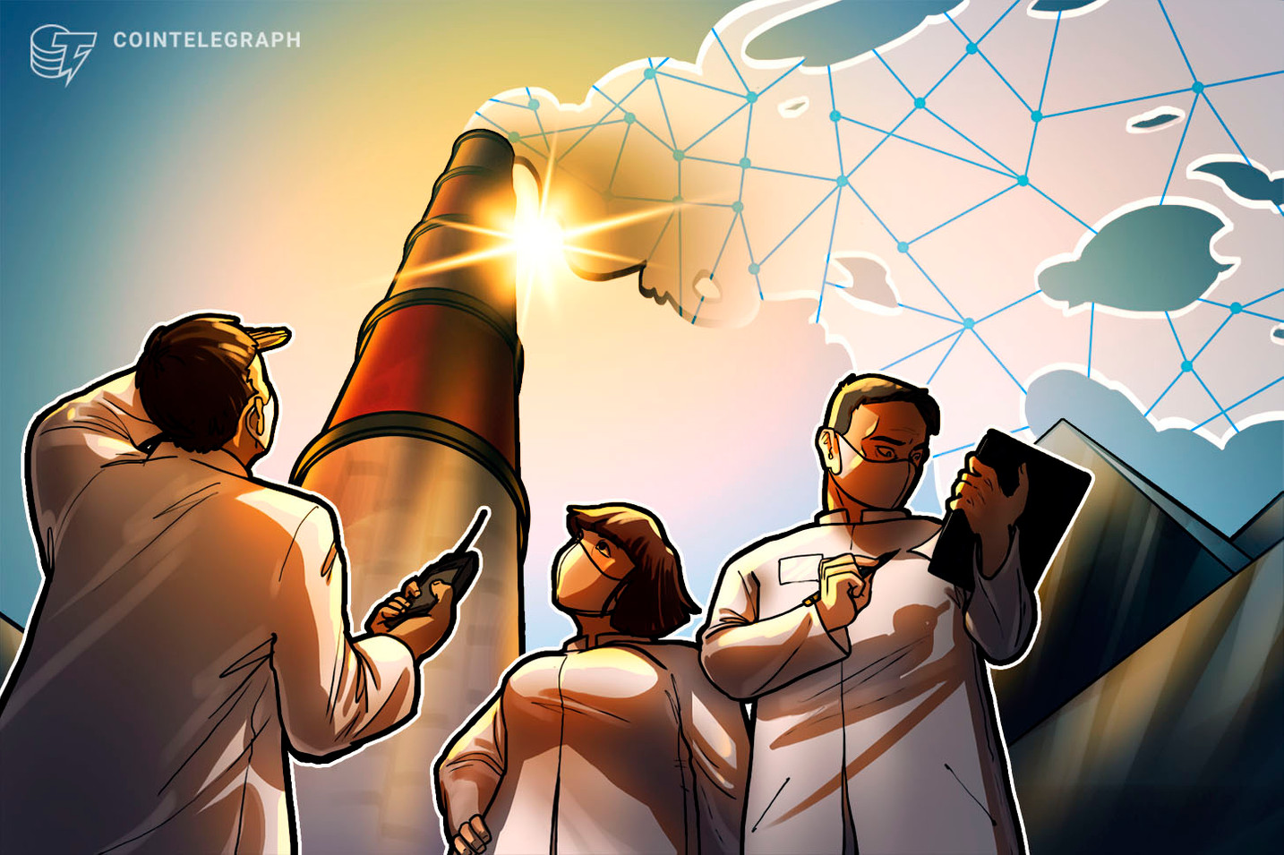 El Foro Económico Mundial evalúa el registro de las emisiones de carbono a través de la tecnología blockchain