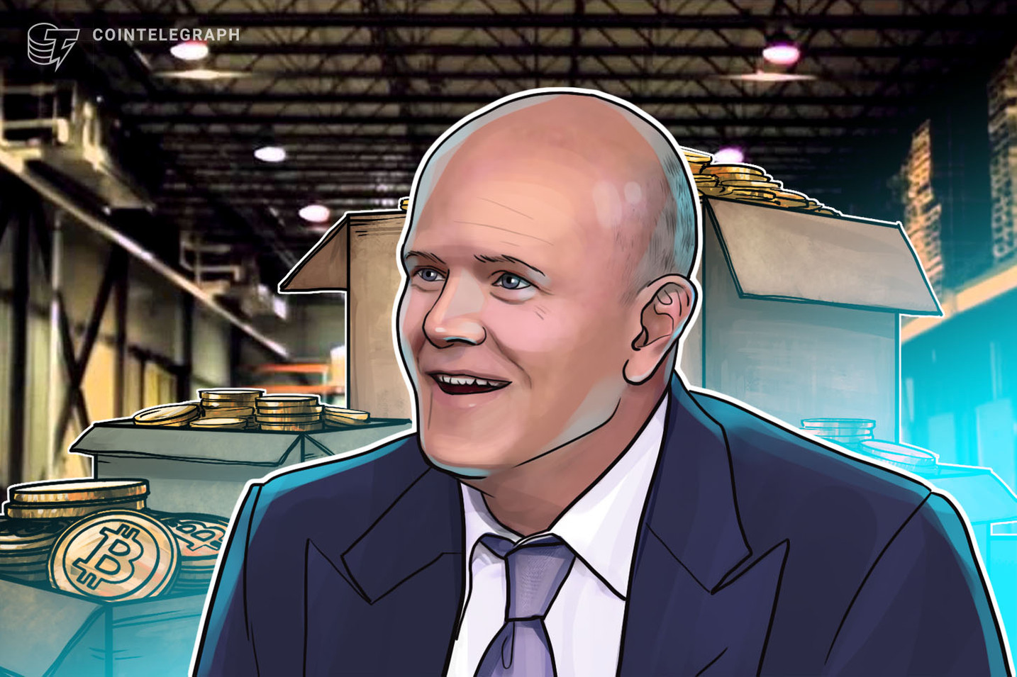 Mike Novogratz has 50% of net worth in crypto, advocates up to 5% for investors