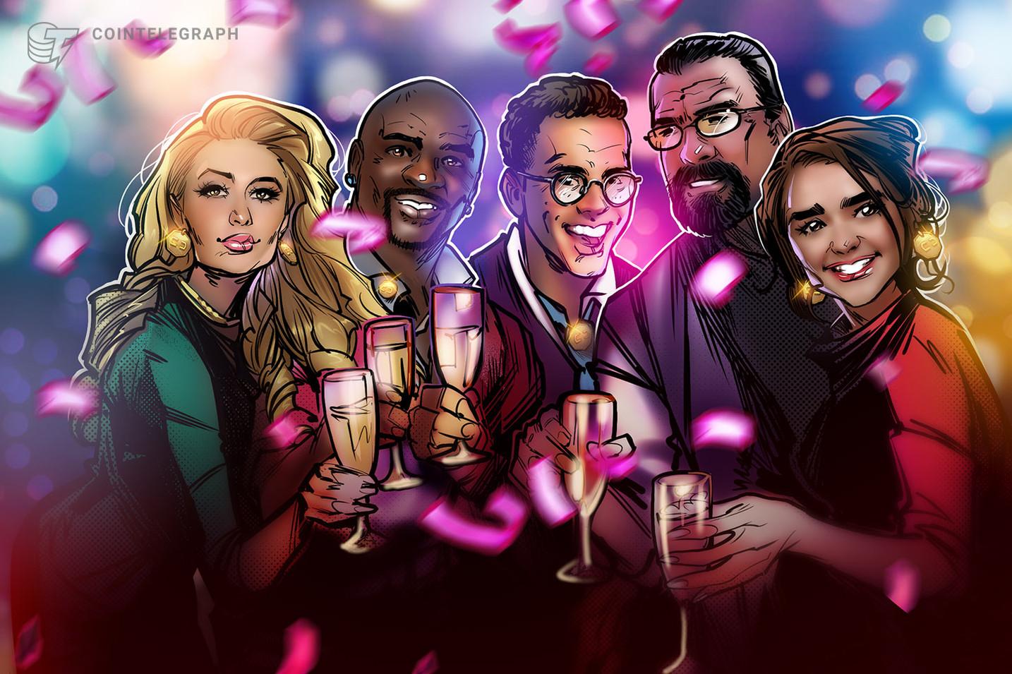 Celebridades y criptomonedas en 2020: ciudades impulsadas por blockchain, novatos de Bitcoin y trolleos en Twitter