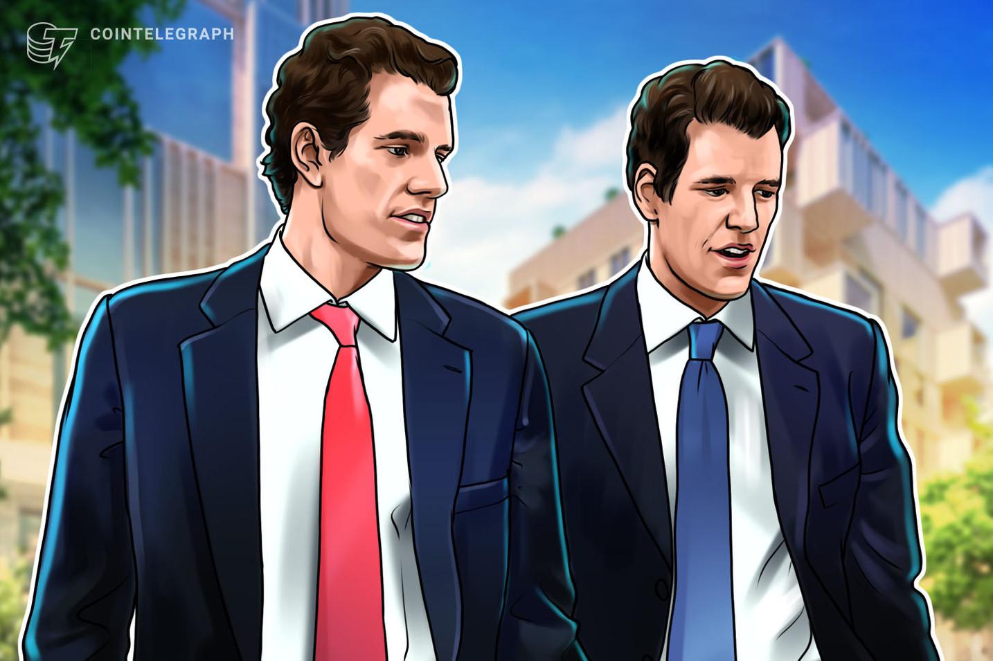Bitcoin's market cap will flip gold: Winklevoss twins