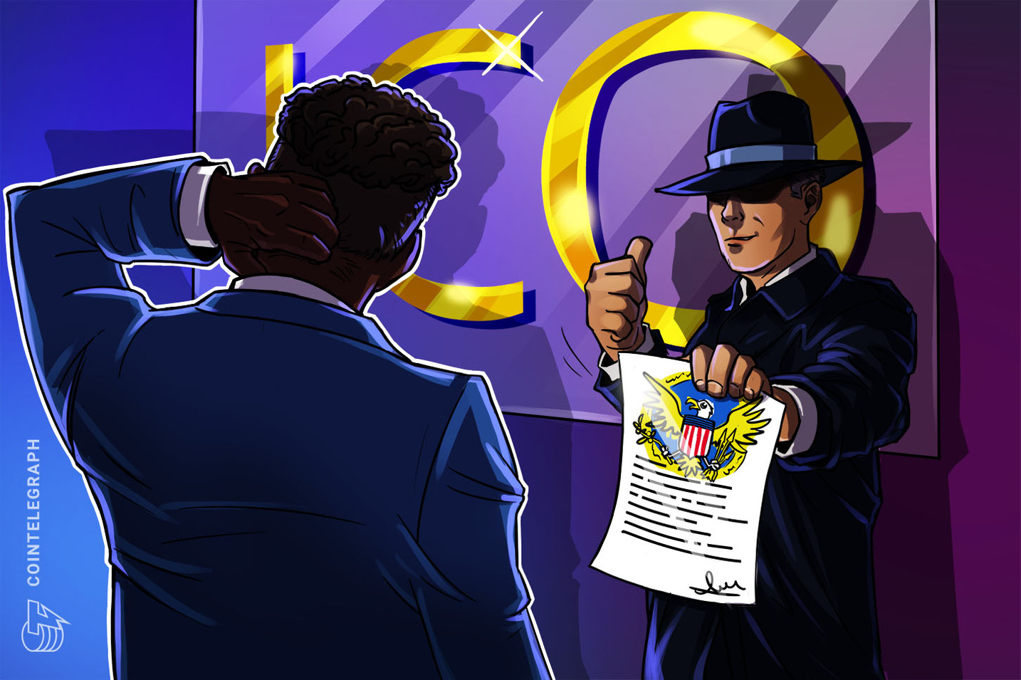 What does VCOIN's SEC authorization mean for securities law and crypto?