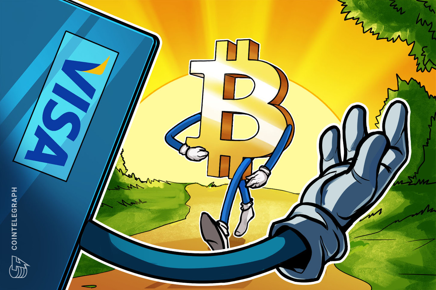 Bitcoin hits $25,000 all-time high milestone, surpassing Visa's market cap