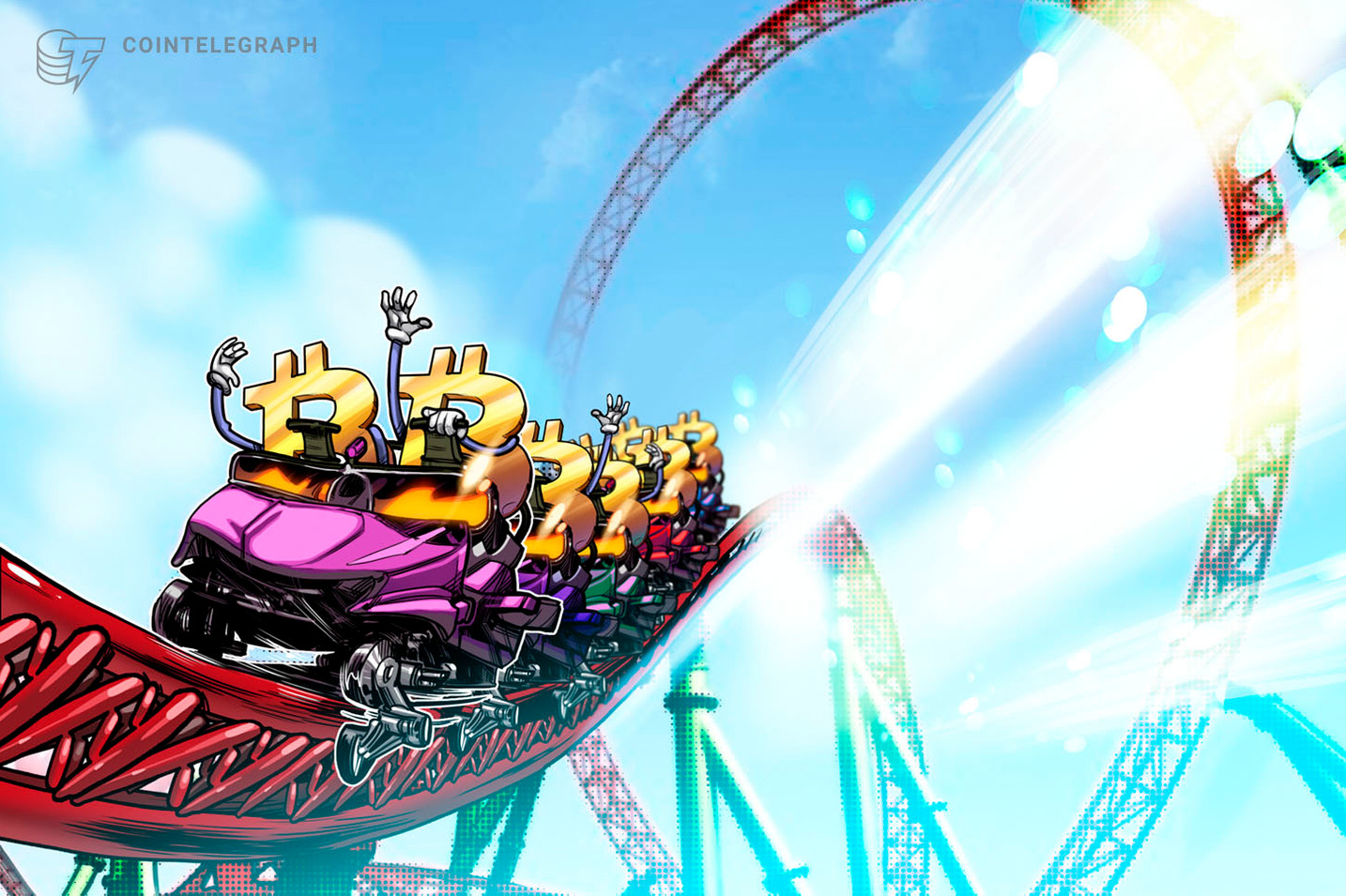 Bitcoin price drops to $22.4K after weekend all-time highs