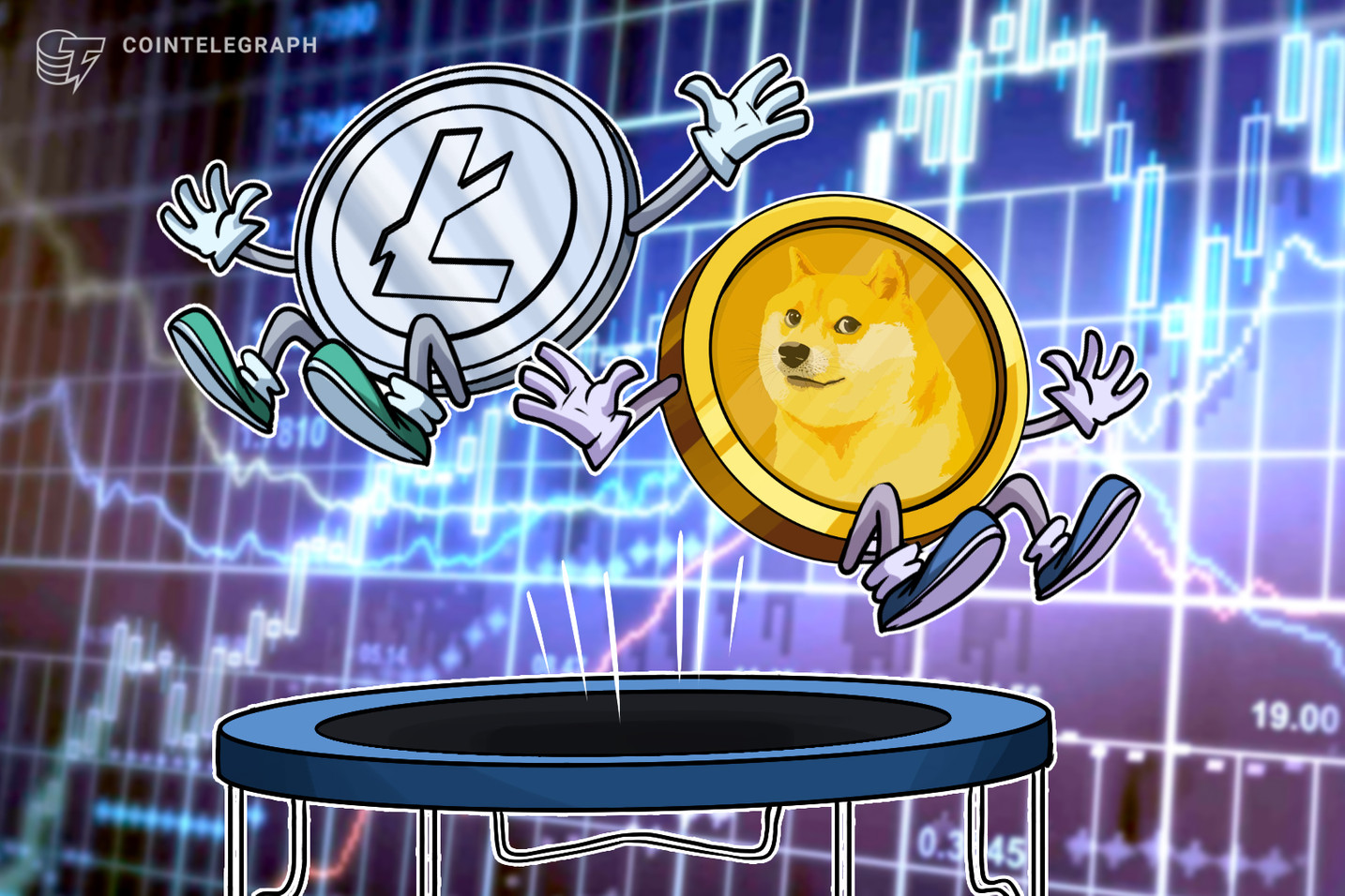 Litecoin, Dogecoin and large-cap altcoins rally as Bitcoin price hits $23.8K