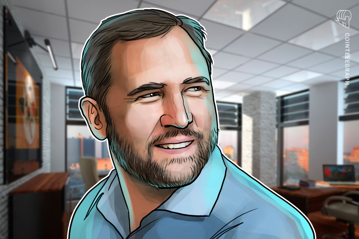 95% of Ripple's customers are not from the US, CEO Garlinghouse says