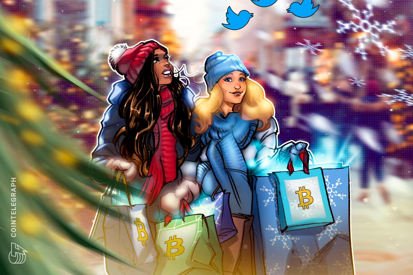 Crypto Twitter is celebrating Christmas with a new Bitcoin milestone