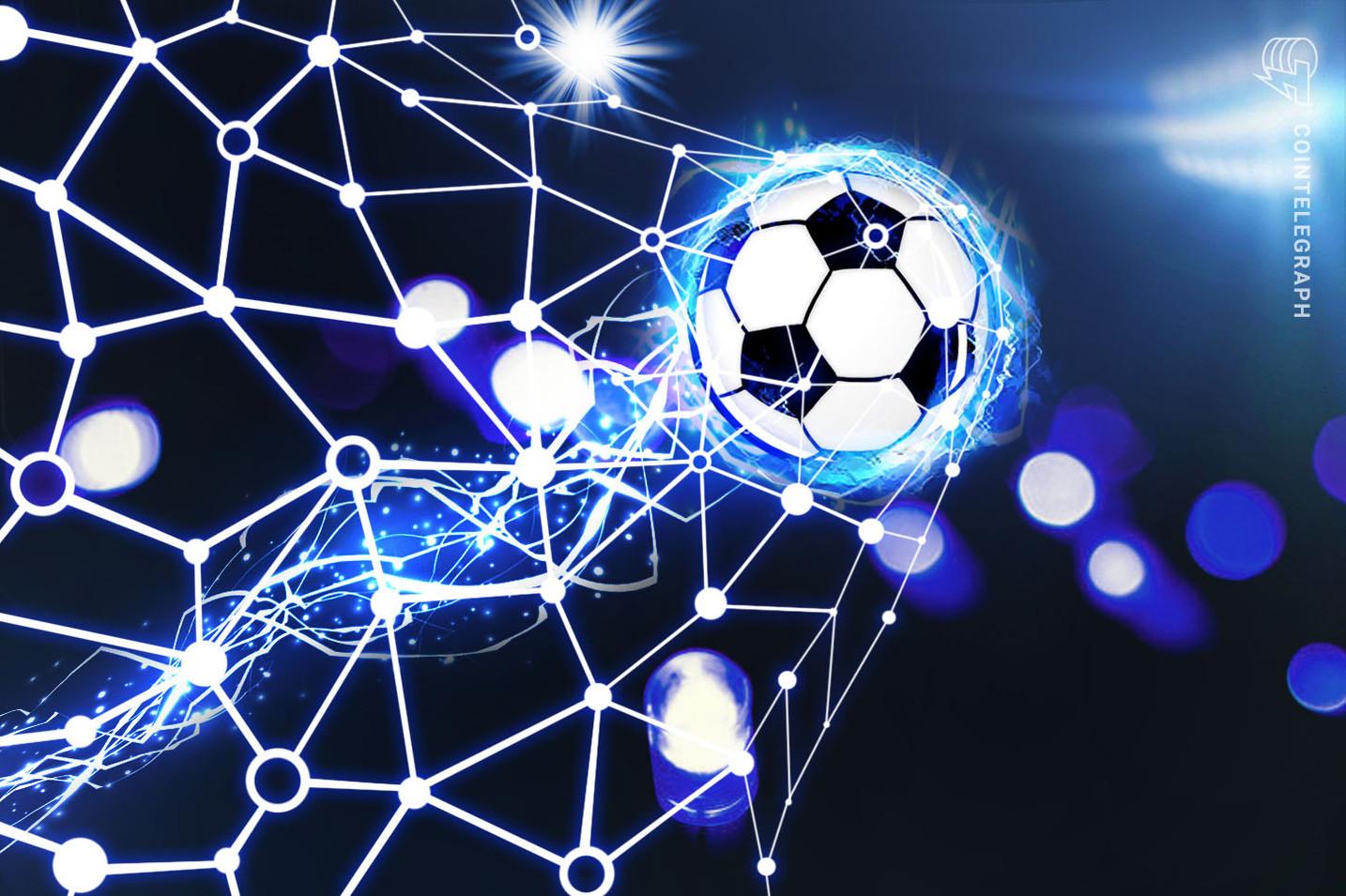 Los estadios vacíos consiguen que la tecnología Blockchain y el fútbol jueguen juntos