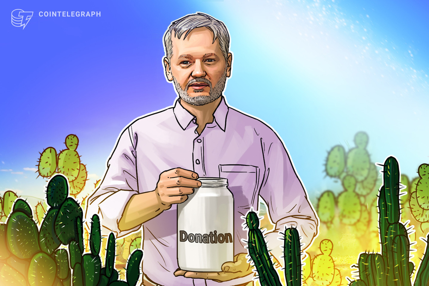 Crypto users donate $400K to Julian Assange defense as Mexico proposes asylum