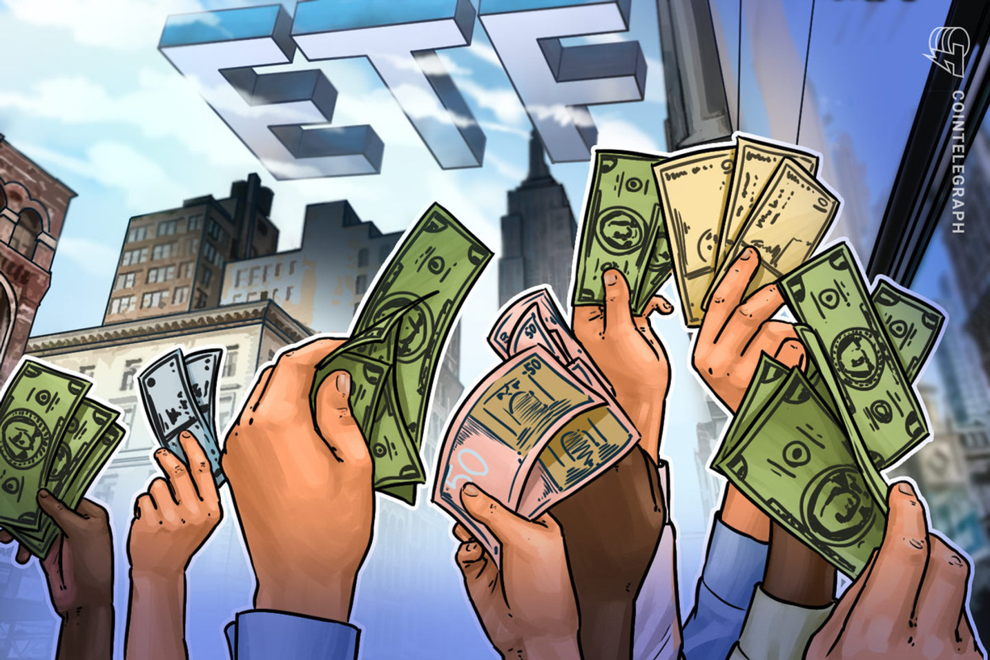 The race is on yet again for crypto ETFs as Valkyrie files registration