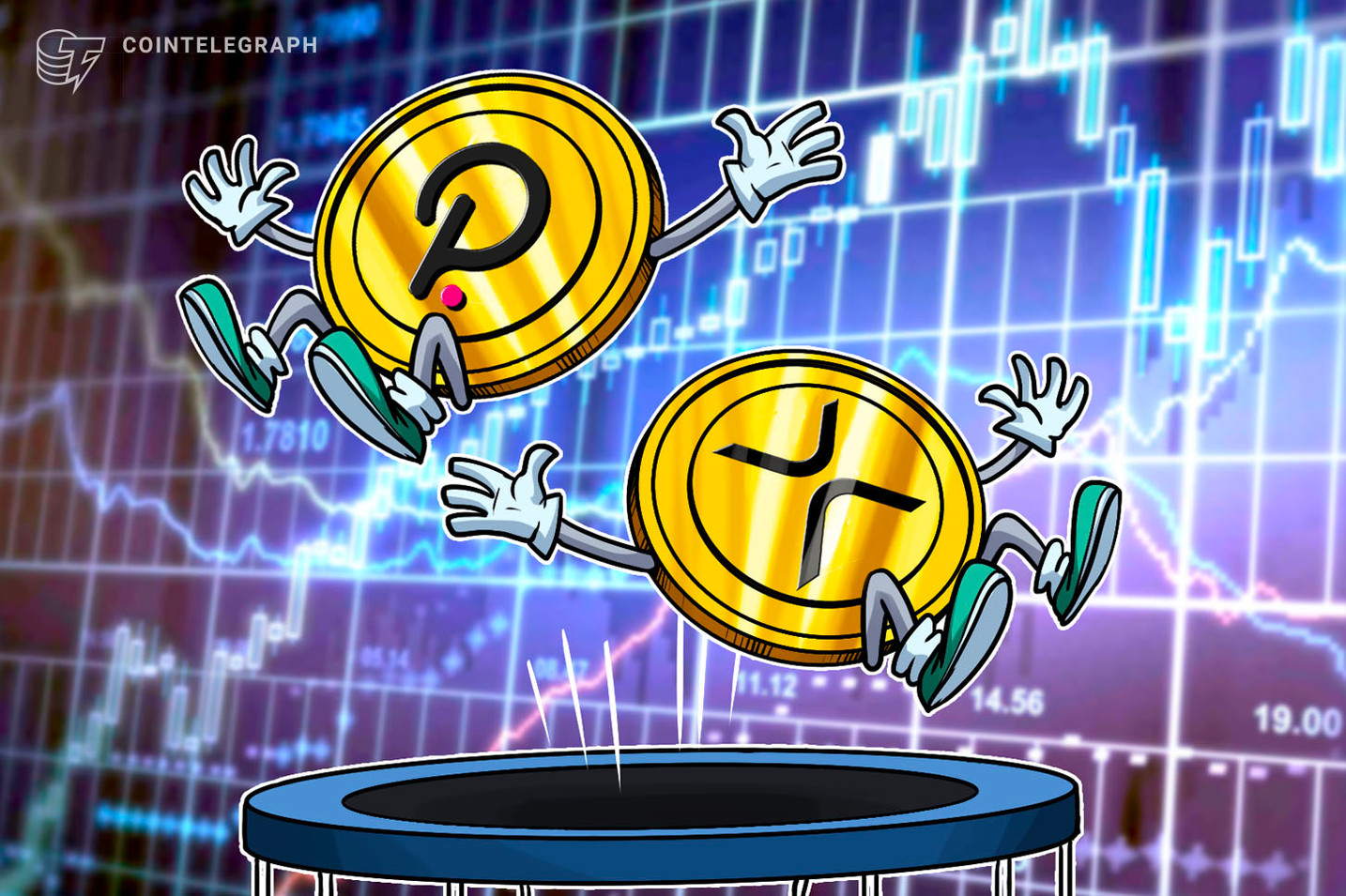 DOT flip: Polkadot overtakes XRP to become the fourth largest cryptocurrency