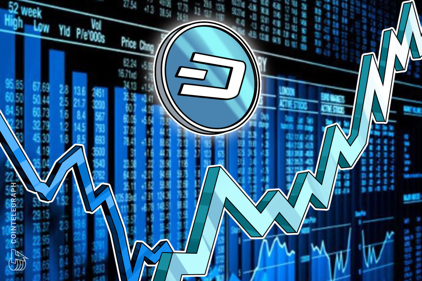 Dash price explodes 100%, BCH breaks out as Bitcoin cools off below $40K