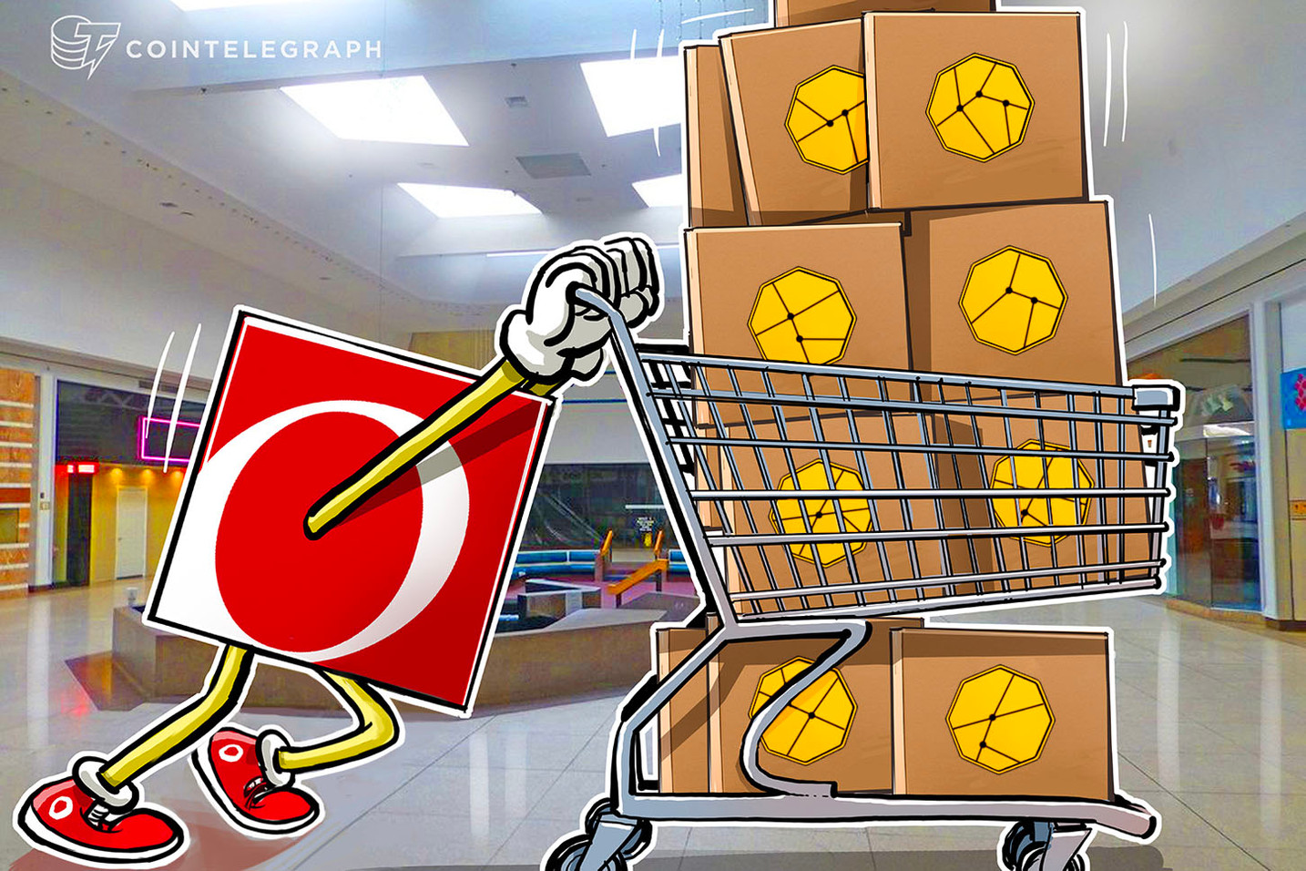 Overstock spins its blockchain subsidiary into investment fund