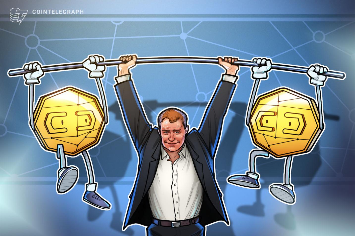 Aave y Chainlink alcanzan nuevos máximos mientras el precio de Bitcoin sigue luchando por mantener el nivel de los 32,000 dólares