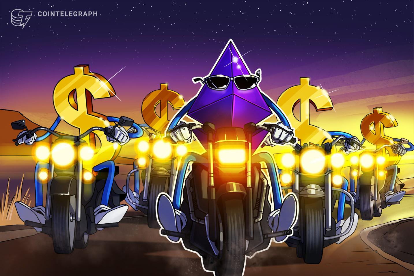 El precio de Ethereum finalmente alcanzó un nuevo máximo histórico al superar los USD 1,428