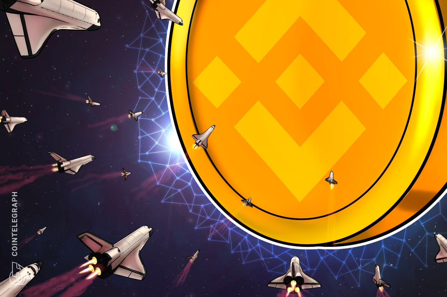 Tether'i sollayan Binance Coin en büyük üçüncü kripto para oldu