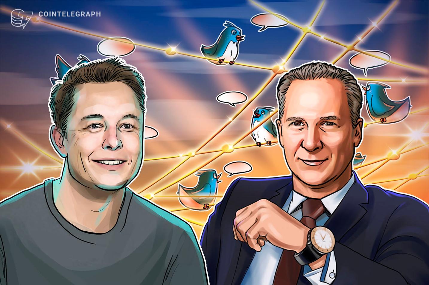 Klare Kante? – Musk legt sich mit bekanntem Bitcoin-Kritiker an