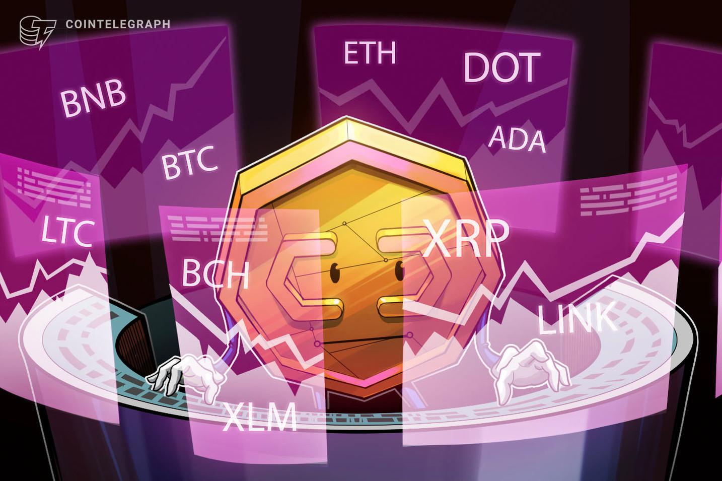 急反発のBTCやアルトコイン 今後の動きは? 仮想通貨チャート分析:ビットコイン・イーサ・XRP(リップル)・ビットコインキャッシュ・ライトコイン