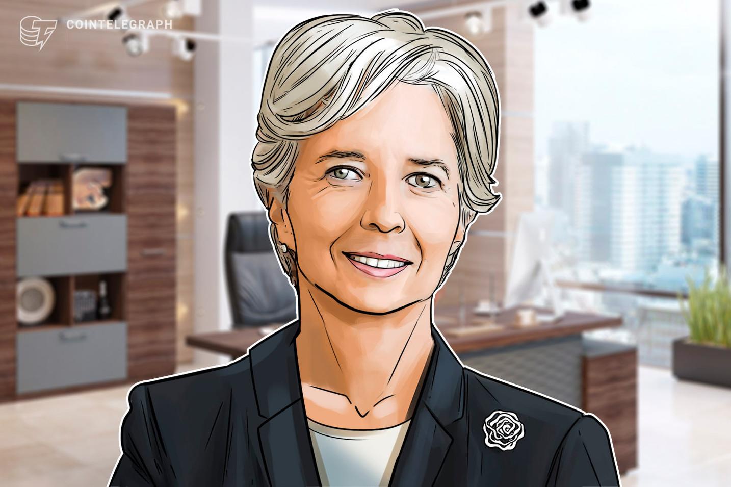 """Lagarde, do BCE, diz que está """"fora de questão"""" bancos centrais comprarem Bitcoin"""