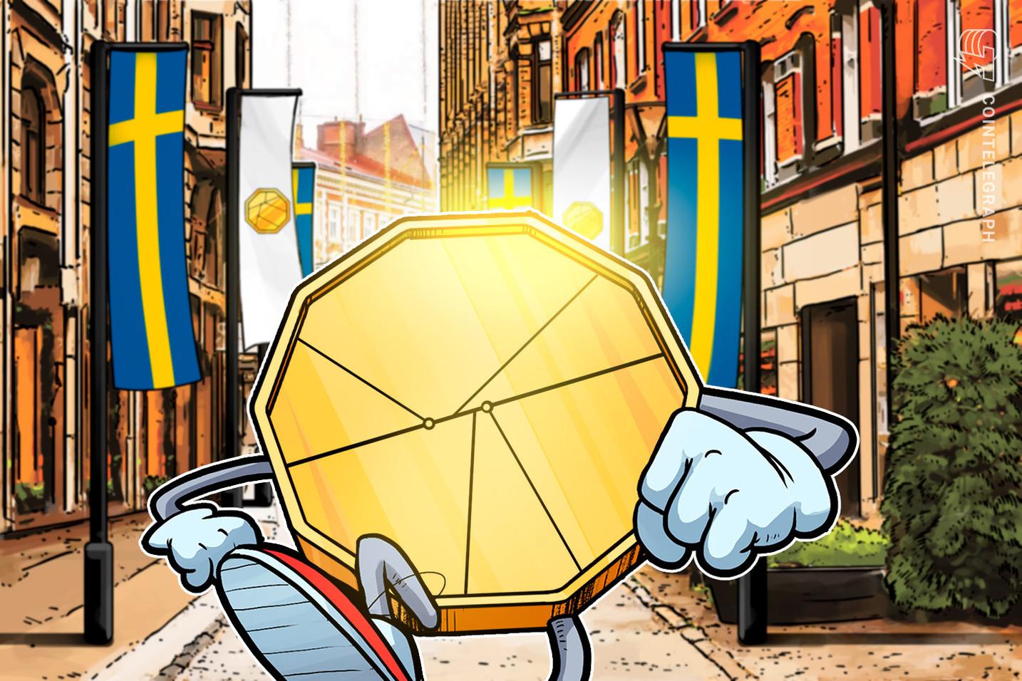 スウェーデン、デジタル通貨「eクローナ」のパイロットプログラムを来年2月にまで延長