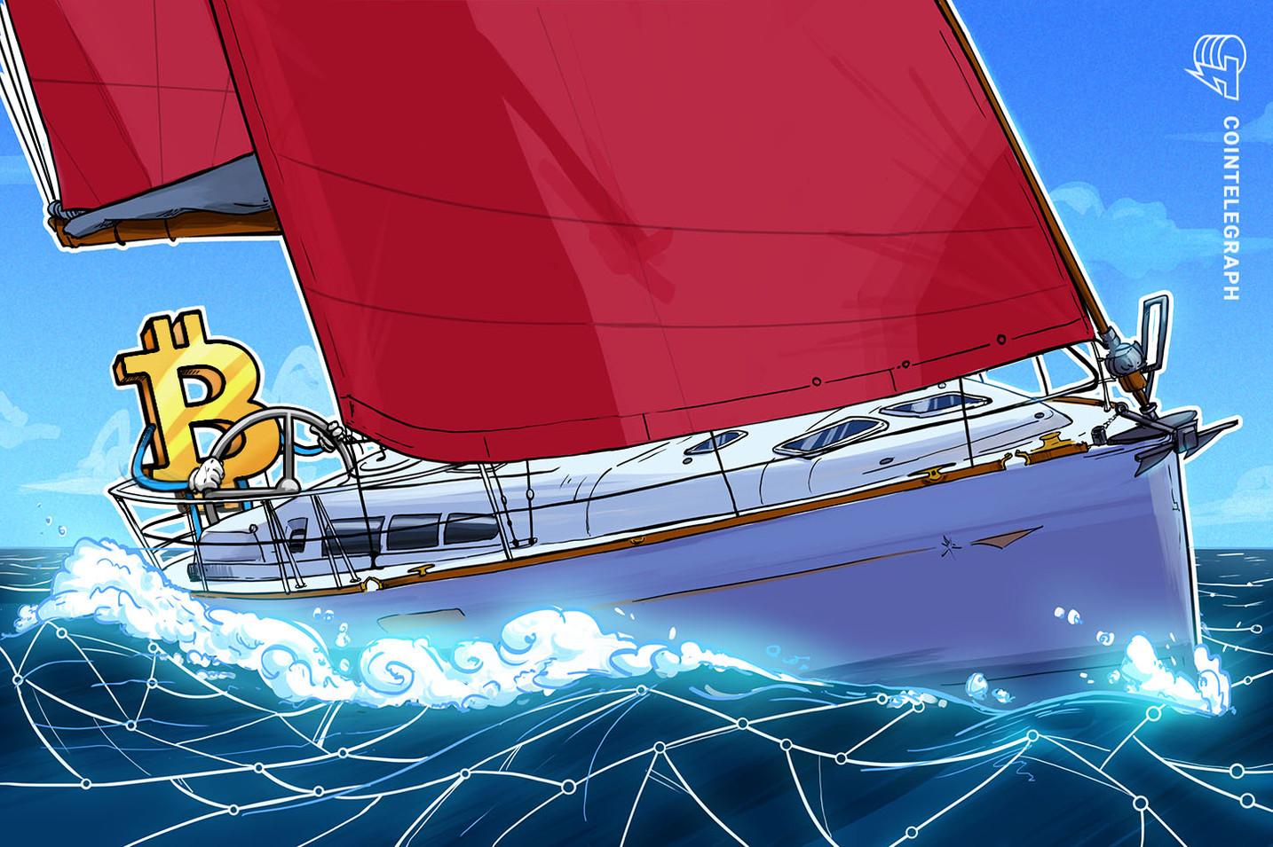 Bitcoin es el premio de esta regata de veleros