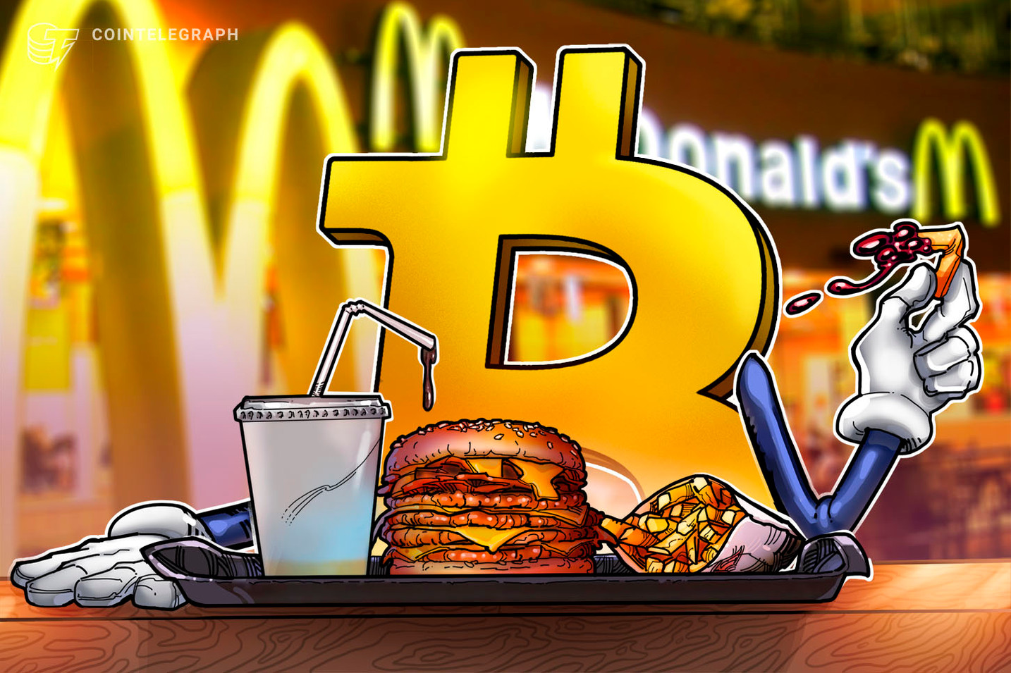 Fiat food? Bitcoin Big Mac Index crashes below 10,000 satoshis for the first time ever