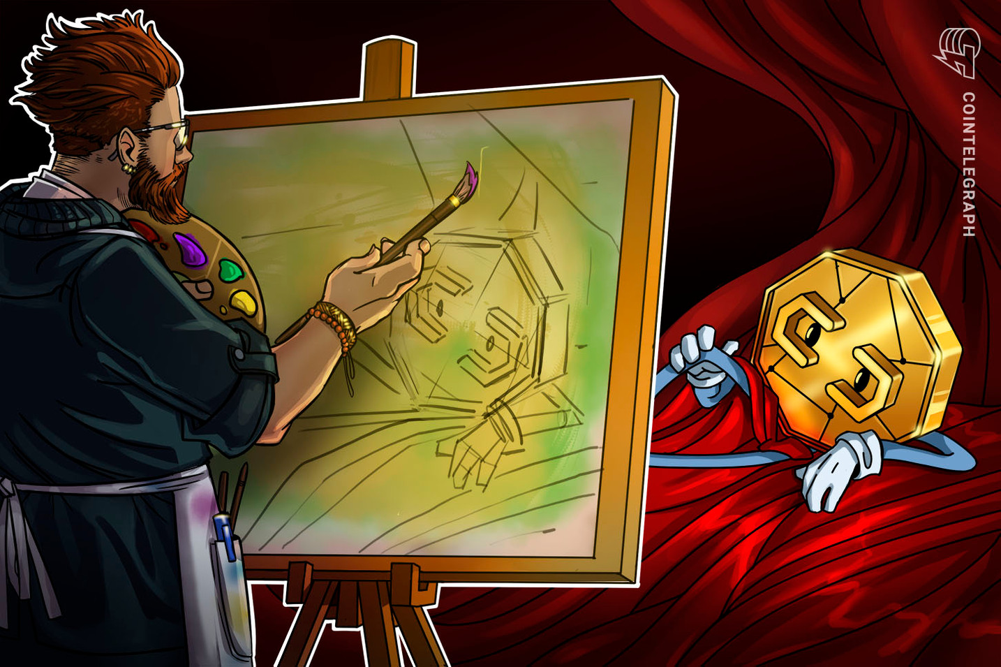 Former DC comic book artist fetches $1.85M auctioning Wonder Woman NFTs