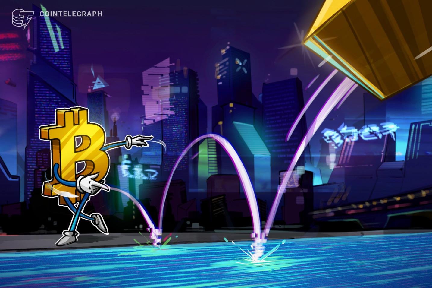 Por que o Bitcoin está abaixo de US$ 60.000? Capitalização de mercado do ouro pode dar pistas da resposta