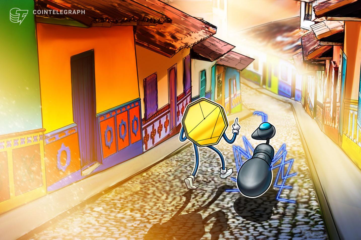 Banco mais antigo da Colômbia começa teste com criptomoedas