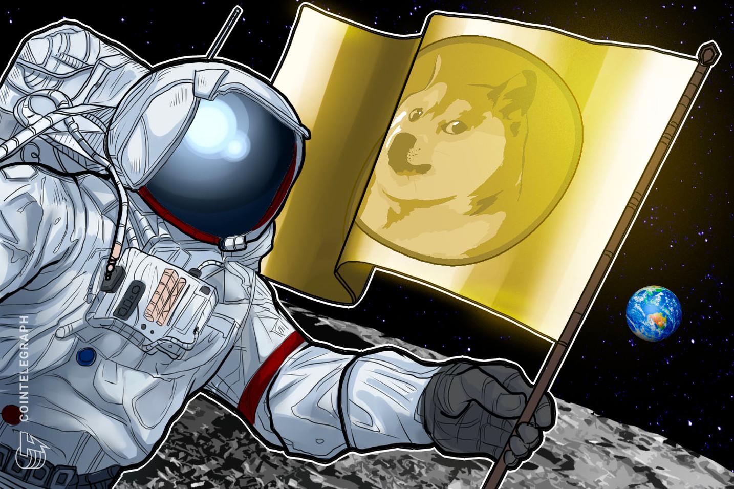 ¿DOGE literalmente a la luna? Elon Musk lo insinúa en la prueba de la nave Starship SN10