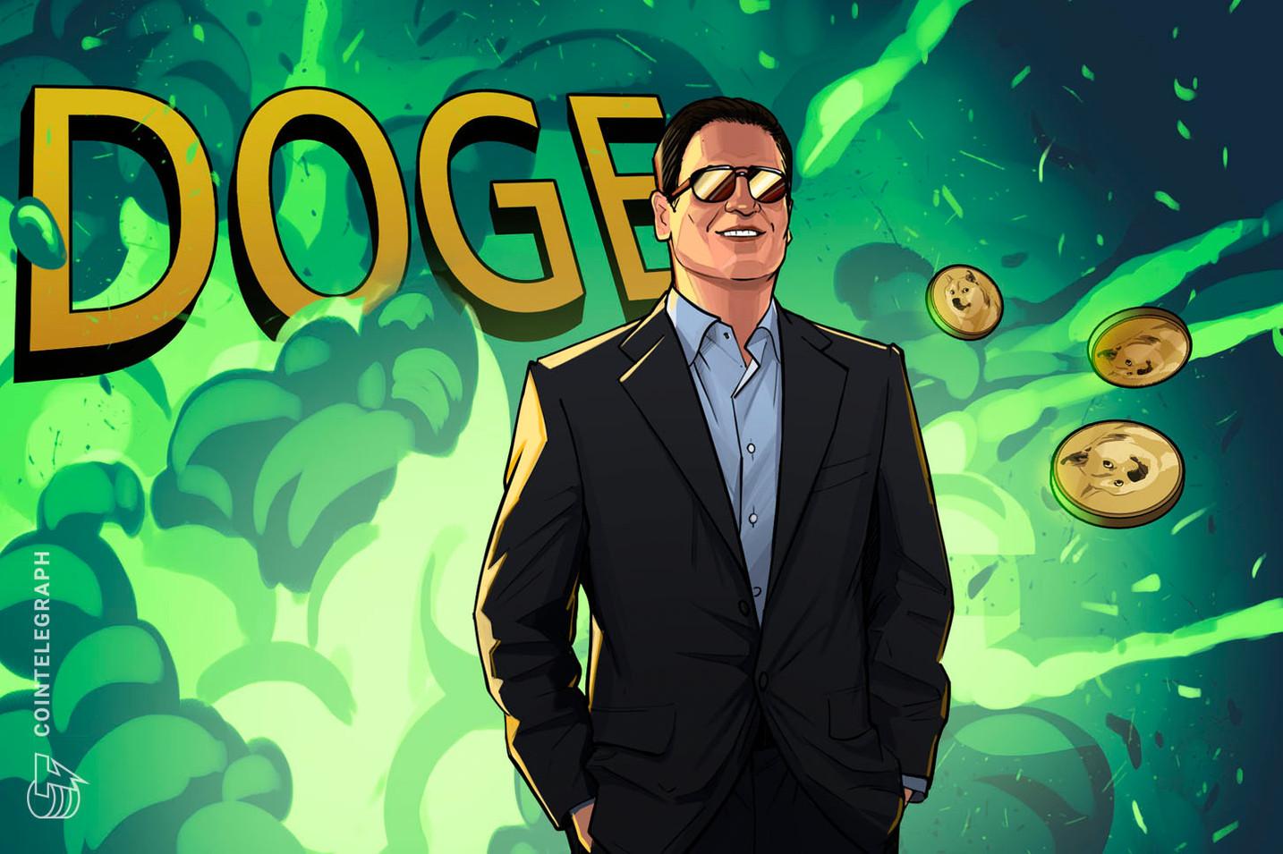 """Mark Cuban: """"DOGE 1 doları görebilir"""""""