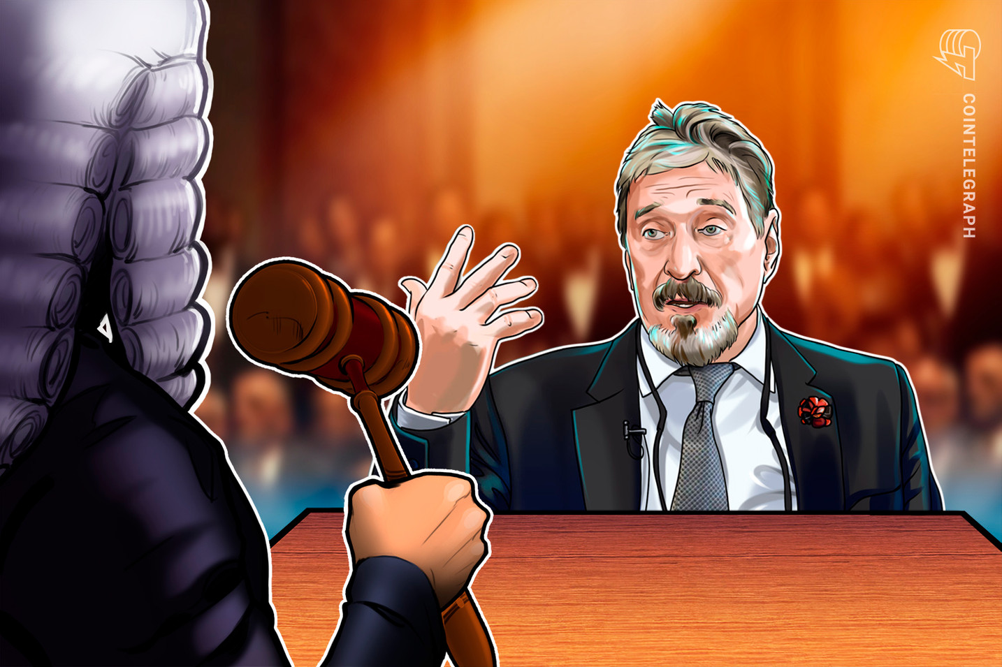 McAfee faces crypto-related fraud charges from NY court